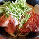 トマトつけ麺 金舌 ~kinnoshita~@にぼ神角ふじ 前橋市【ちひログ】