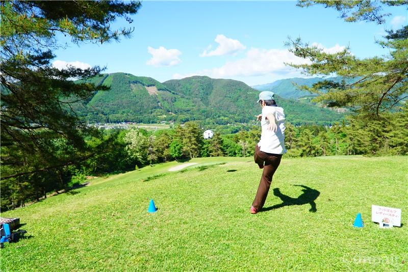 フットゴルフティー