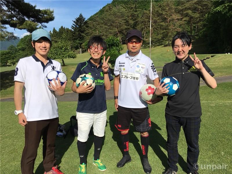 フットゴルフ日本チャンピオンの冨沢和未さん