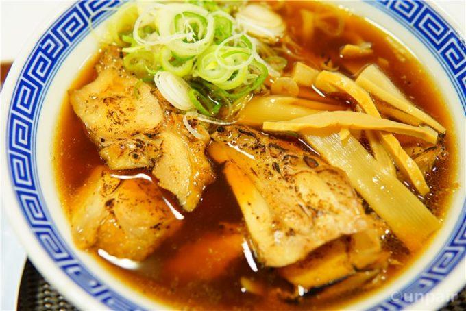 鶏チャーシュー麺(しょうゆ)