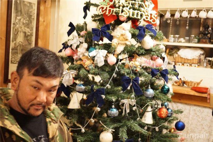 クリスマスと我次郎マイク