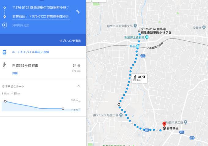 新里駅伝 1区のデータ