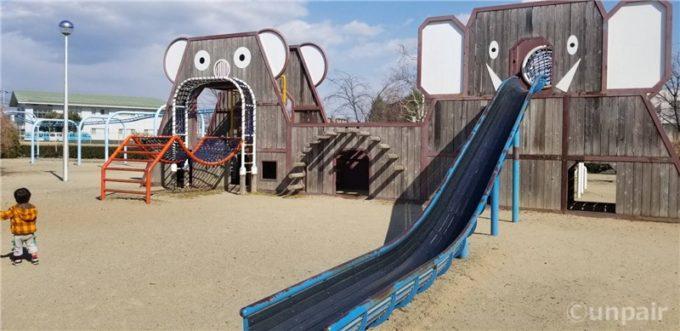 象とコアラの公園