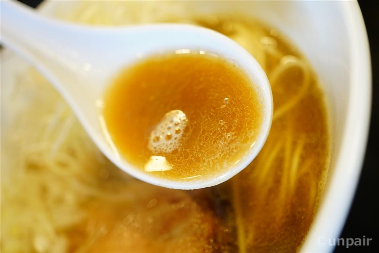 煮干し中華そばNORMAL のスープ