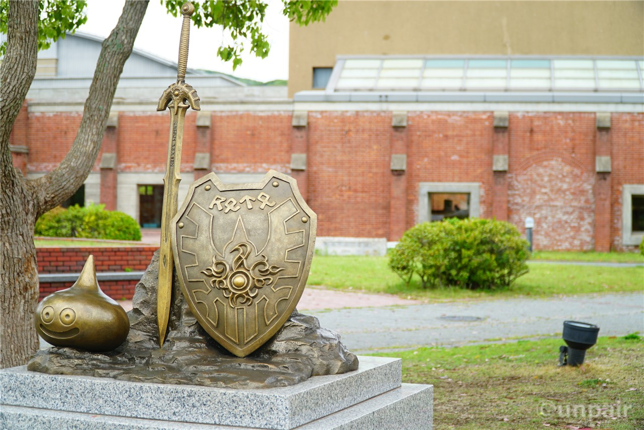 ドラクエ30周年記念碑