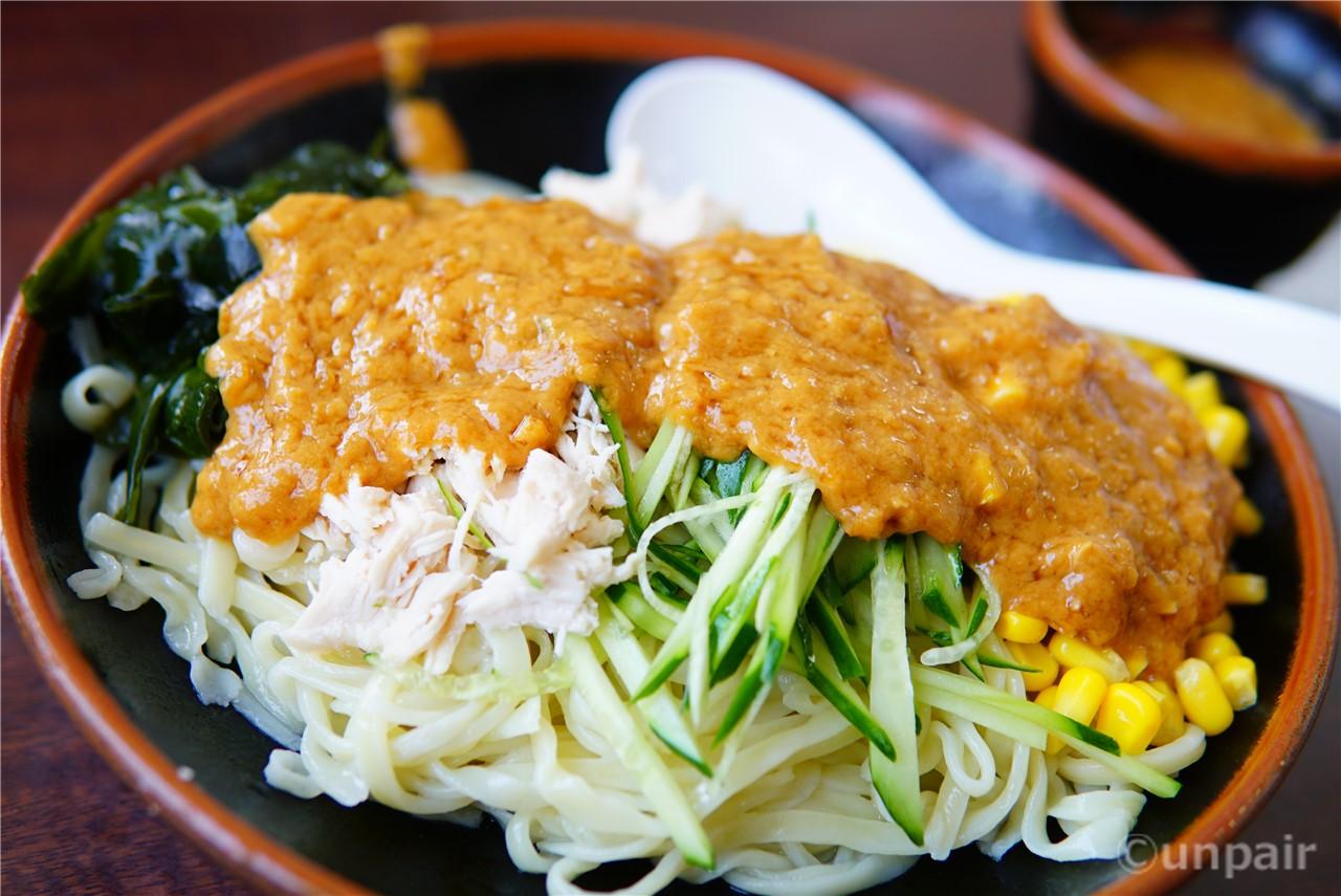 バンバンジー麺 @手打らーめん 金龍