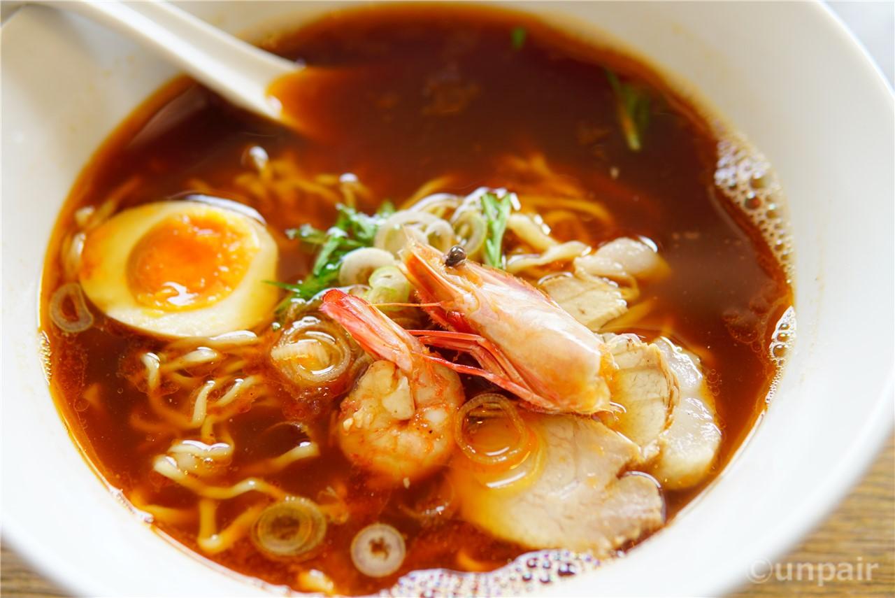えび入りラー麺(醤油)
