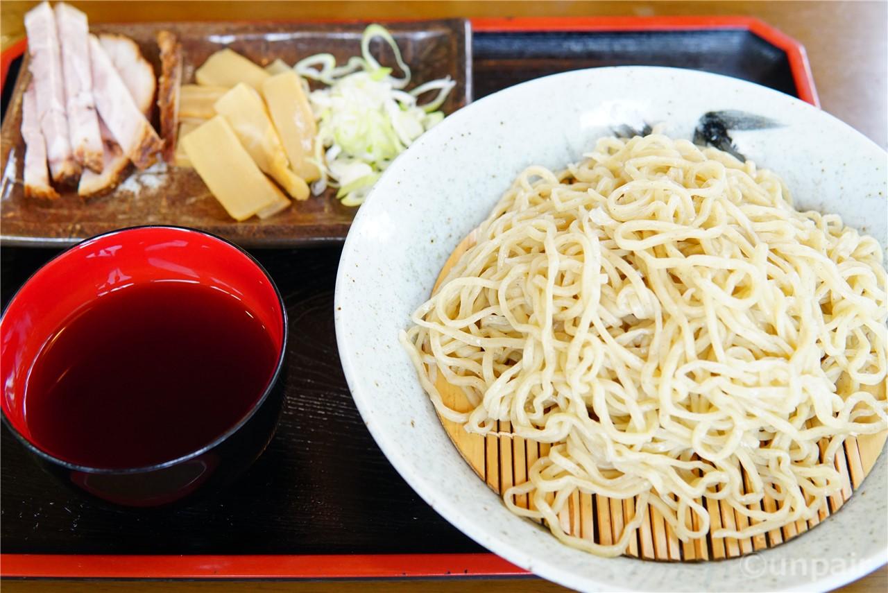 黒小麦つけ麺