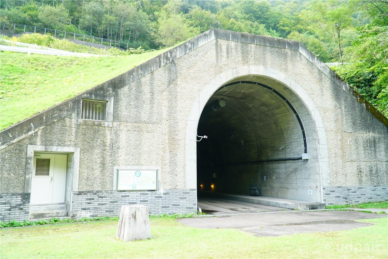 水の路(水路工事作業用トンネル)