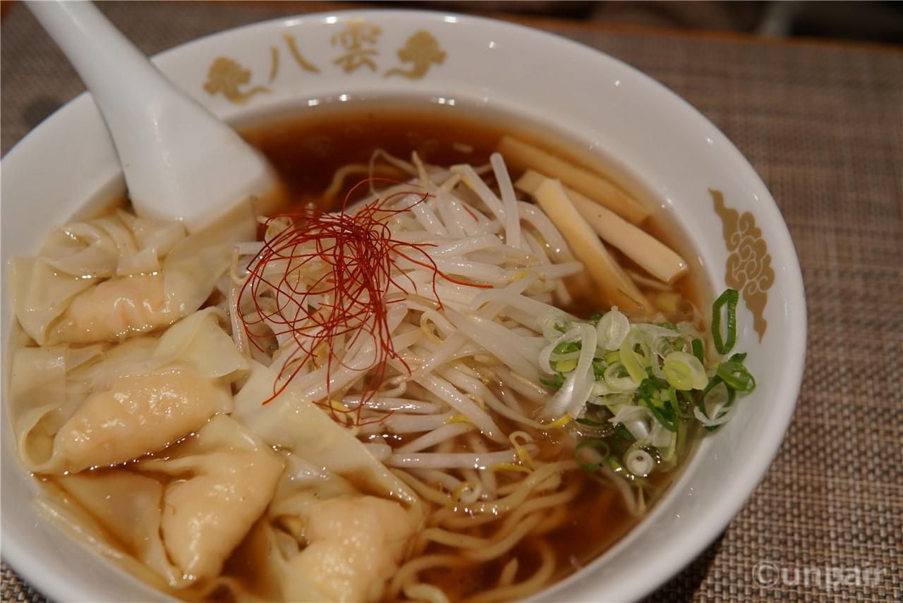 海老ワンタンメン(醤油)