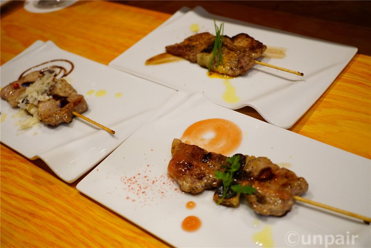 桐生豚の串焼