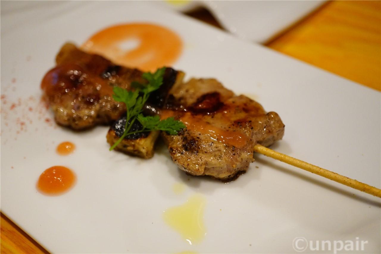 桐生豚 梅肉ソース