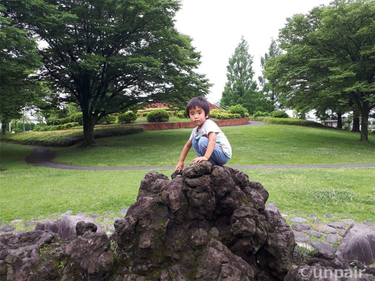 小さな岩山