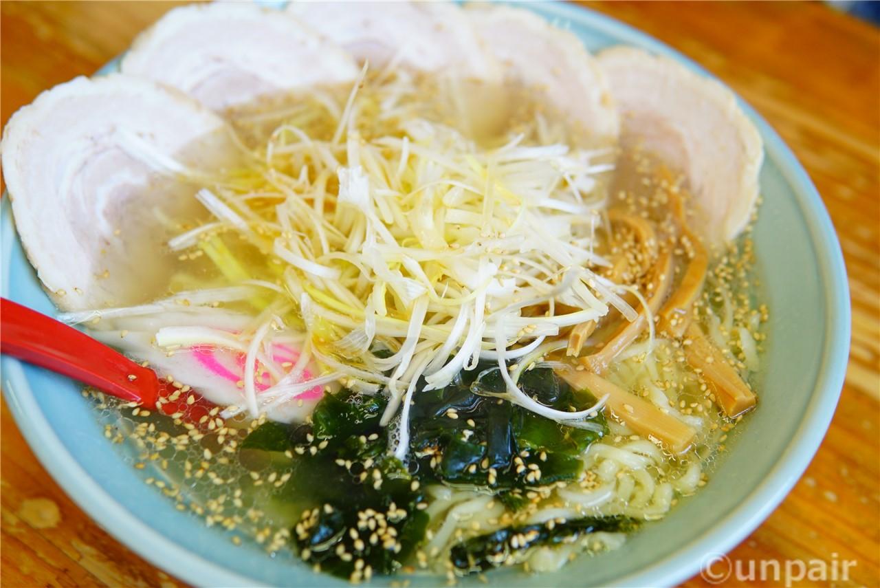 ねぎ塩チャーシューメン(大盛)