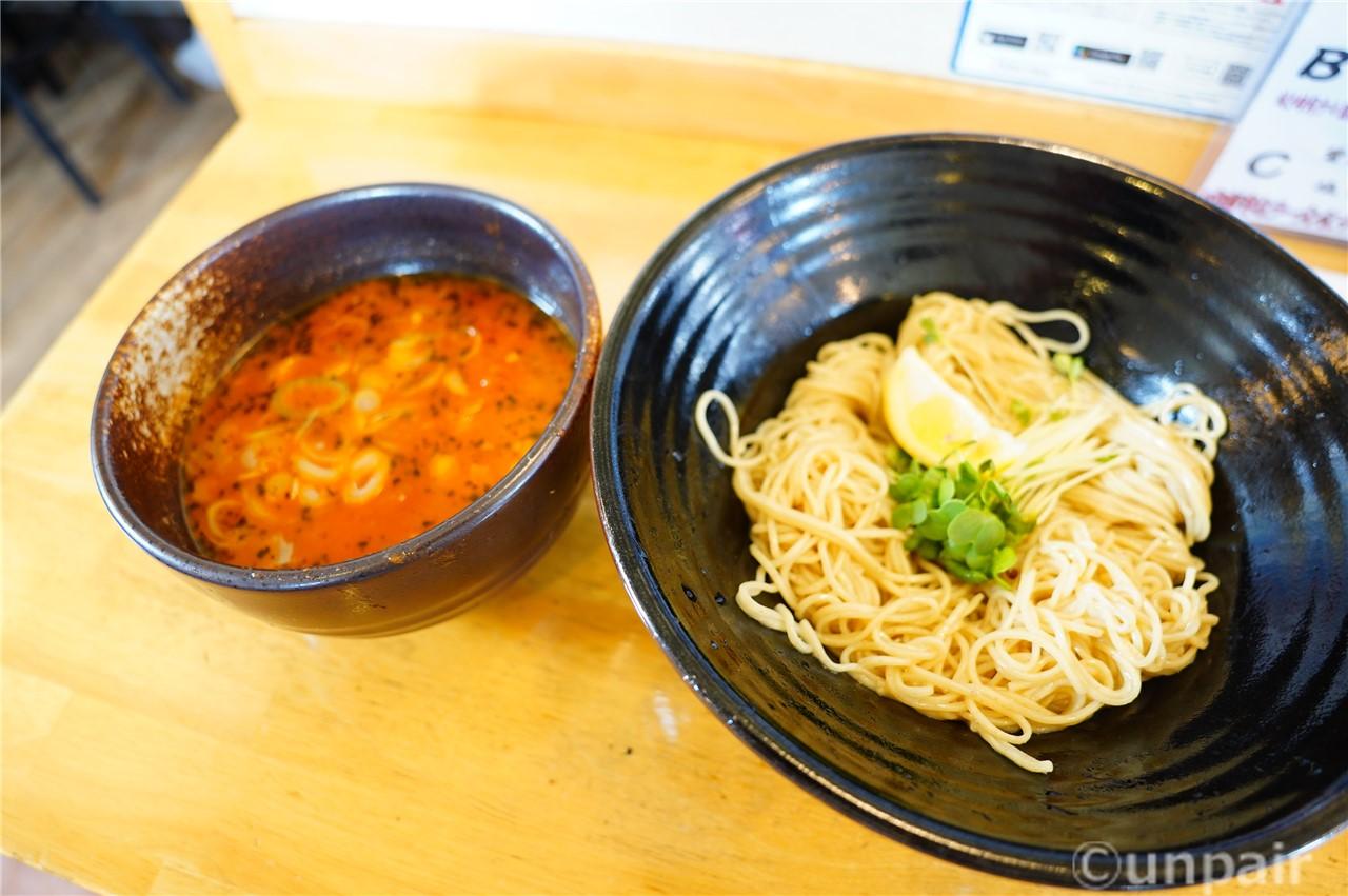 あさりとトマトの塩つけ麺
