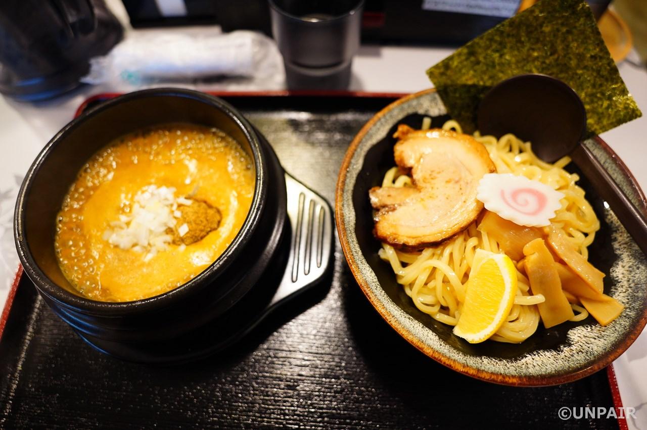 黄金つけ麺