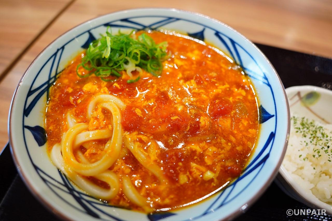 「トマたまカレーうどん」株式会社TOKIO×丸亀製麺